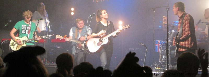Of Monsters and Men in Göttingen