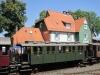 Hessencourrier im Bahnhof Naumburg (Bz Kassel)