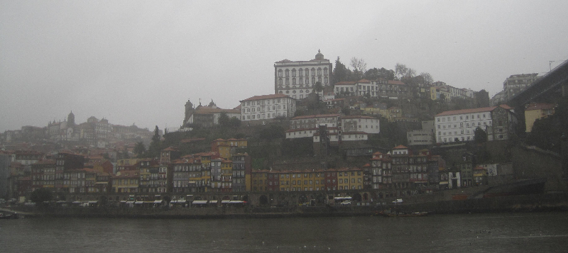 Verregnetes Porto